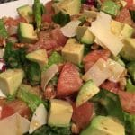 Avocado and Grapefruit Salad with Citrus Vinaigrette