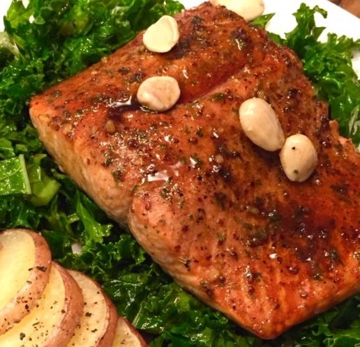 Super Easy Baked Salmon in 15 minutes Cultivated Tree Olive Oil