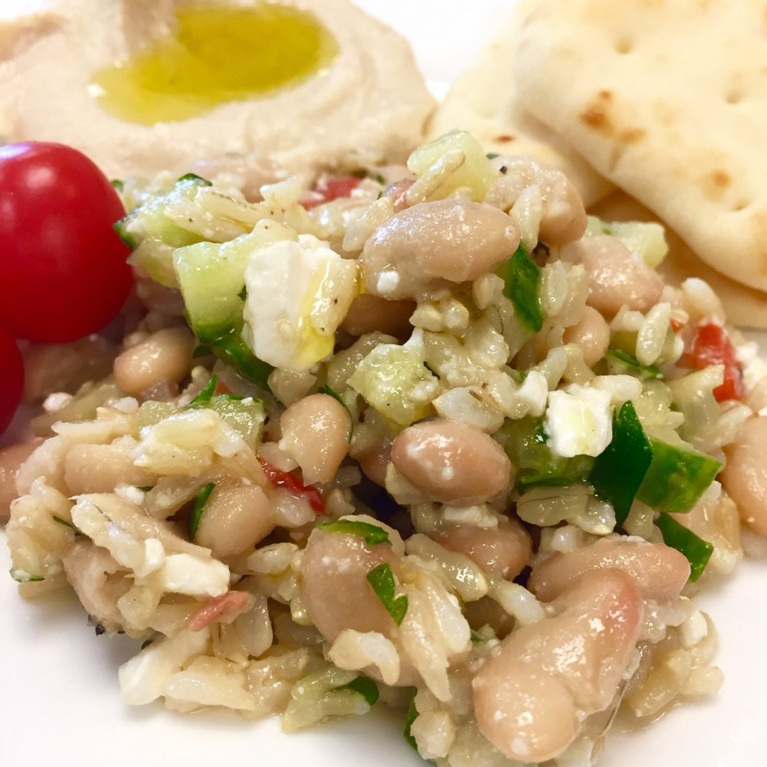 Cultivated Tree Mediterranean Rice Salad